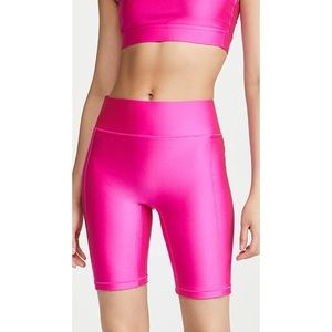 All Access High Waist Center Stage Bike Shorts
